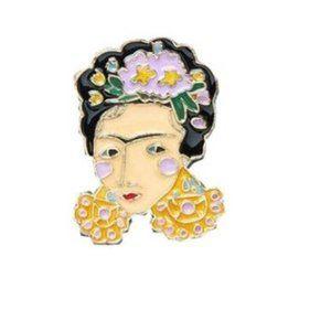 5/$24 Frida Kahlo Pin Brooch